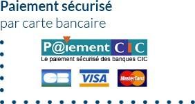 Payer en toute sécurité avec notre partenaire CIC